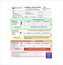Asthma Action Plan Template Together With School Asthma Action Plan ...