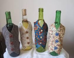 Wine bottle decorations, Wine bottle sleeves, Wine bottle decor, Bar decor,  Bar