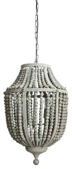 gray wood chandelier gray wood bead and metal chandelier world market gray wood and iron valencia