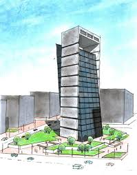 office building design. Another Office Building Design By Zabbah