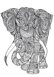 Coloring Pages For Adults Animals Bucefalclub