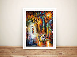 the end of patience framed wall art print