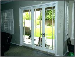 pella sliding glass doors s door lock parts thermastar reviews with built in blinds