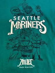 on aug 19th the mariners will celebrate amulet day enjoy a day at the ballpark and get a t shirt link here mariners amulet