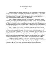 health and wellness project part health and wellness project 2 pages health and wellness project part 2
