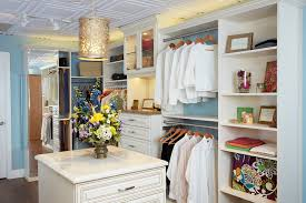 exquisite while laminate walk in closet with custom features