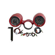 mustang rally pac parts accessories 1966 ford 289 mustang scott drake rally pac 6000 rpm dark red