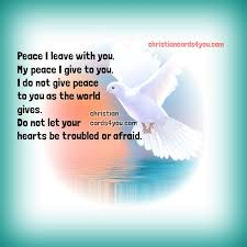 Christian Quotes On Peace Best of Free Christian Quotes About Peace Christian Cards For You