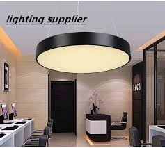 office chandeliers. Modern Simplicity LED Office Chandeliers Nordic Creative Personality Meeting Room Restaurant Art Round Hanging Line Lamps O