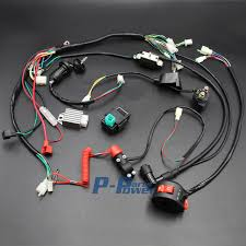 wiring harness loom solenoid coil rectifier cdi kill switch 50cc atv ignition coil wiring wiring harness loom solenoid coil rectifier cdi kill switch 50cc 70cc 90cc 110cc 125cc atv quad