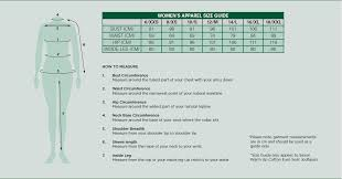 European Size Chart Clothing Clothing Size Guide