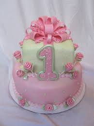11 Birthday Cakes For Little Girls First Birthday Photo Girls 1st