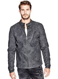 drew faux suede jacket guess uk guess authentic guess clothing