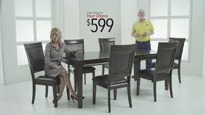 Bobs Furniture Kitchen Sets Dining Rooms Sets For 599 Bobs Discount Furniture Youtube