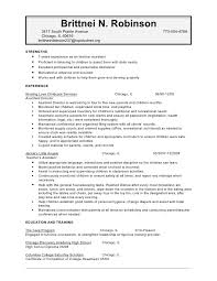 Childcare Resume Sample Child Care Provider Cover Letter Sample