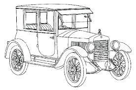 Old Car Coloring Pages Also Old Car Coloring Pages Plus Classic Free