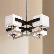 contemporary interior lights design with possini euro design chandelier enchanting possini euro design mirrored grids