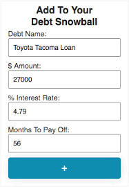 Free Debt Snowball Calculator Debt Snowball Calculator With Interest And Extra Payments
