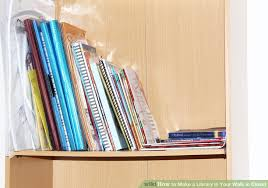image titled make a library in your walk in closet step 2