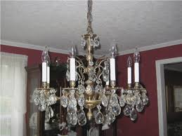 crystal chandeliers for brass chandelier makeover antique