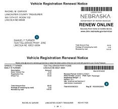 Sample Letter To Dmv Nebraska Department Of Motor Vehicles Enotice