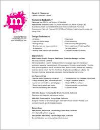 Sample Resume Layout Design Experience Resumes