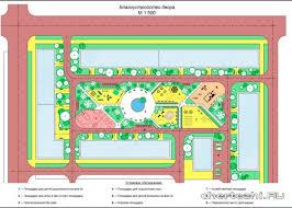 Благоустройство курсовая работа территории парка Чертежи РУ Курсовой проект Вертикальная планировка и благоустройство жилой территории