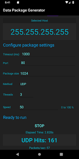 DDos Data Package Generator for Android - APK Download