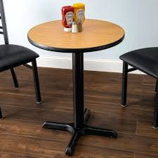 24 round table tops table and seating standard height table with round reversible walnut oak table