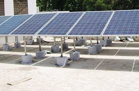 country s 1st grid rooftop solar project in state