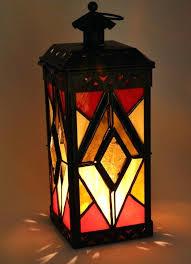 stain glass lantern stained glass lantern stained glass outdoor lights