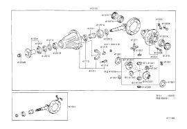 TOYOTA 4RUNNERVZN185L-GKPGK - POWERTRAIN-CHASSIS - REAR AXLE ...