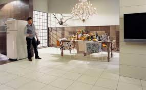 Plain Tile Flooring Ideas For Dining Room Decorating With Floor And Wall Tiles Throughout Modern Design
