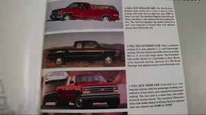 1993 Chevy Pickups sales brochure - YouTube