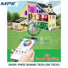 Mua Đèn Led thông minh MPE - Smart Wifi - Búp 9W - LB-9/SC (Phúc Khang  Tech) chỉ 417.000₫