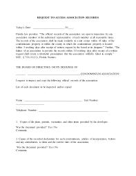 condo association budget template dbpr request to access association records template