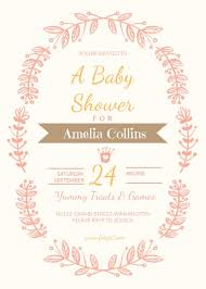 baby shower invitations for girls templates baby shower invitation for girls template fotojet