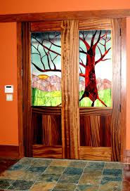 astounding ideas for home interior with interior french pocket doors splendid tree stained glass double
