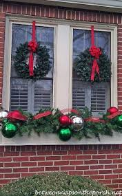 elegant christmas window d cor ideas family holiday net guide to
