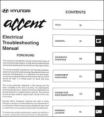 wiring diagram 1999 hyundai accent wiring diagram and schematic repair s overall electrical wiring diagram 2002 graphic 2007 hyundai accent electrical troubleshooting