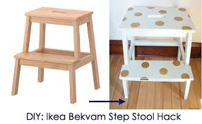 A fun way to be creative with decals! Ikea Hack: Ikea Bekvam Step Stool