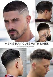 7 cool haircut designs with lines for