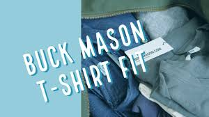 Buck Mason Size Chart Buck Mason Fit T Shirt Review The Perfect Piece Of Mens Fashion For A Menswear Hypebeast Blogger