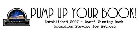 Image result for pump up your book logo