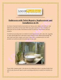 Bathroom With Toilet Repairs Replacement And Installation In UK Awesome Bathroom Toilet Repair Plans