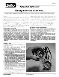 mallory breakerless ignition wiring diagram solidfonts msd 6al mallory unilite distributor wiring diagram home mallory comp 9000