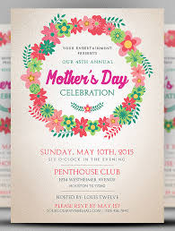 21 Beautiful Mothers Day Flyer Templates Psd Word Ai Eps