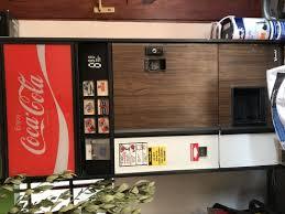 Vending Machine Fridge Extraordinary Vintage CocaCola Vending Machine Fridge Junk Mail