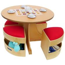 a child supply circular table with 4 stools set table and chair setskid