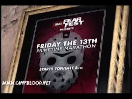 Friday The 13th AMC FearFest 2012 Commercial #1 - YouTube
